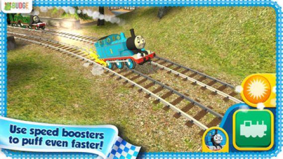 Thomas ve Arkadaşları: Koş Thomas Koş -- Hız Mücadelesi Resimleri