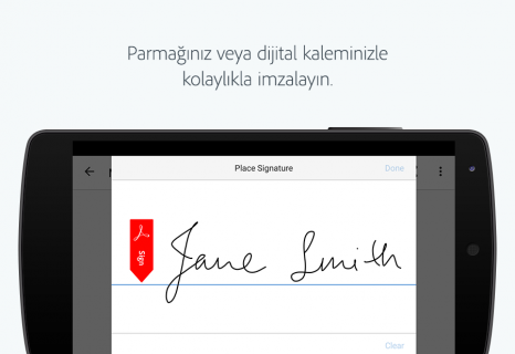 Adobe Fill & Sign Resimleri