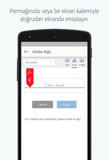 Adobe Sign Resimleri