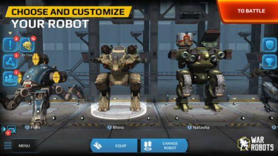 War Robots Resimleri