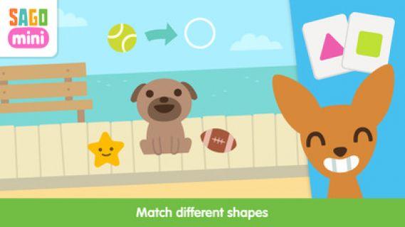 Sago Mini Yavru Köpek Anaokulu Resimleri