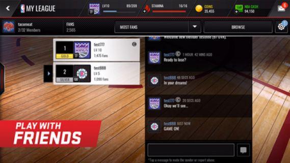 NBA LIVE Mobile Basketbol Resimleri