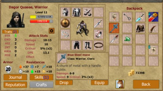 Exiled Kingdoms RPG Resimleri