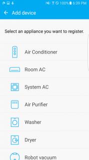 Samsung Smart Home Resimleri