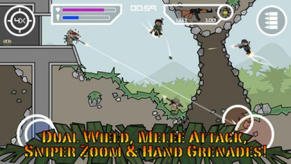 Doodle Army 2 : Mini Militia Resimleri