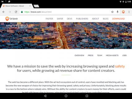 Brave Browser Resimleri