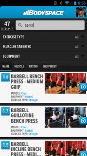 BodySpace - Social Fitness App Resimleri