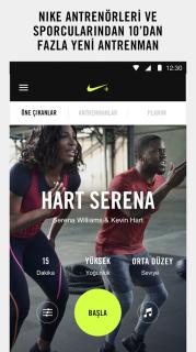 Nike+ Training Club Resimleri