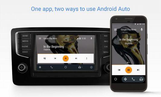 Android Auto Resimleri