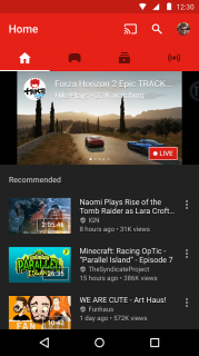 YouTube Gaming (APK) Resimleri