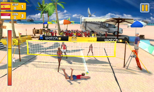 Plaj Voleybolu 3D Resimleri