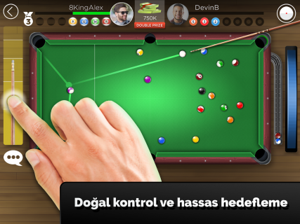 Kings of Pool - Online 8 Top Resimleri