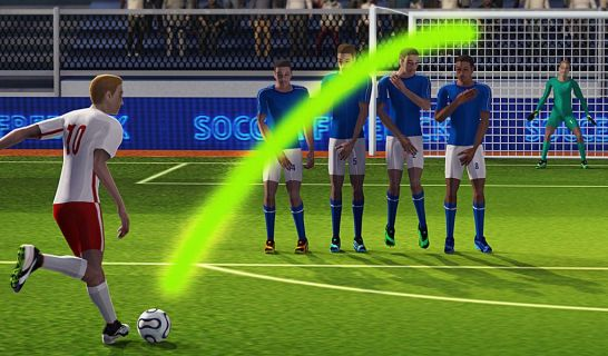 Soccer World League FreeKick Resimleri
