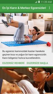 En İyi Karın Egzersizleri Resimleri