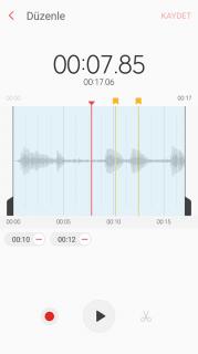 Samsung Ses Kaydedici Resimleri