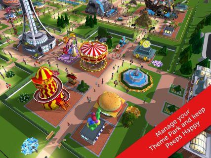 RollerCoaster Tycoon Touch Resimleri