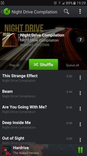 PlayerPro Music Player Trial Resimleri