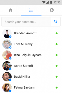 Messenger Lite Resimleri