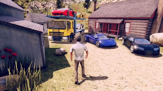John: Truck Car Transport Resimleri