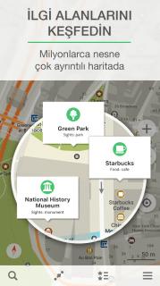 Maps.me -Çevrimdışı Haritalar Resimleri