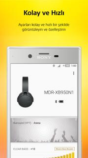 Sony Headphones Connect Resimleri