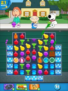 Family Guy Freakin Mobile Game Resimleri