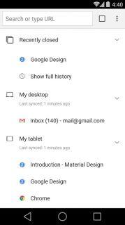 Chrome Beta Resimleri