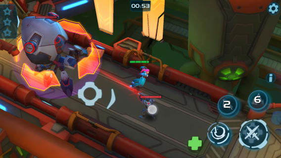 Planet of Heroes: Arena Dövüş Resimleri