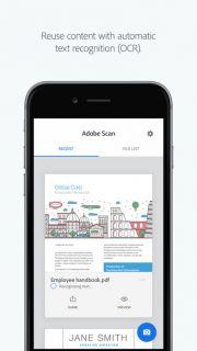 Adobe Scan: PDF Tarayıcısı, Belge, Fatura Resimleri