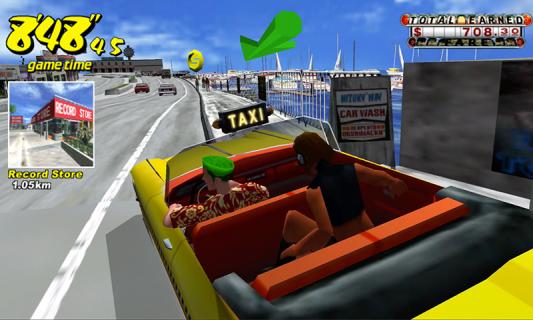 Crazy Taxi Classic Resimleri