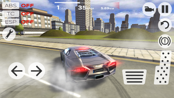 Extreme Car Driving Simulator Resimleri