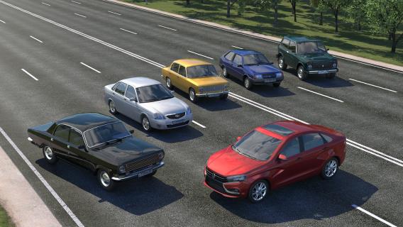 Driving Zone: Russia Resimleri