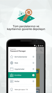 Kaspersky Password Manager Resimleri