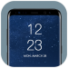 Yuvarlak Köşe Yazısı Ekranı Android