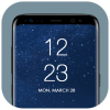 Android Yuvarlak Köşe Yazısı Ekranı Resim