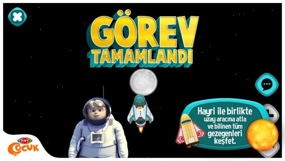 TRT Hayri Uzayda Resimleri