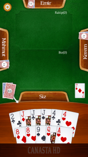 Canasta HD - 51 Kanasta Kart Oyunu Resimleri