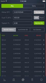 BTCTurk Bitcoin Alım Satım Resimleri