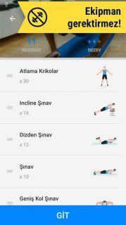 Ev Egzersizleri - Ekipmansız Resimleri