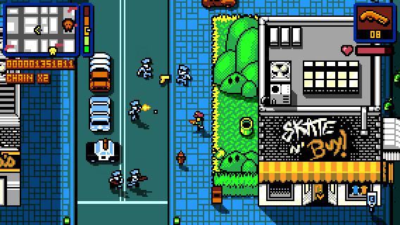 Retro City Rampage DX Resimleri