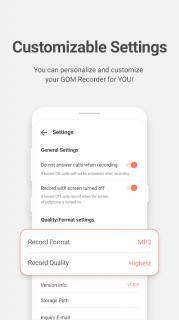 GOM Recorder - Voice and Sound Recorder Resimleri