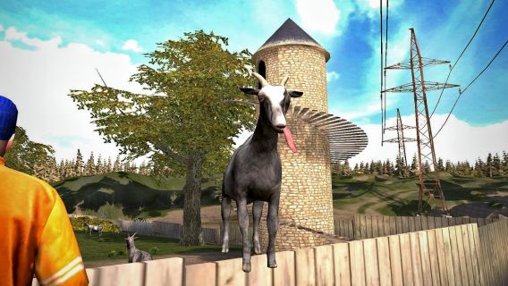 Goat Simulator Free Resimleri