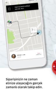 Uber Eats: Şehiriçi Yemek Teslimatı Resimleri