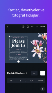 Canva - Ücretsiz Fotoğraf ve Grafik Tasarım Aracı Resimleri