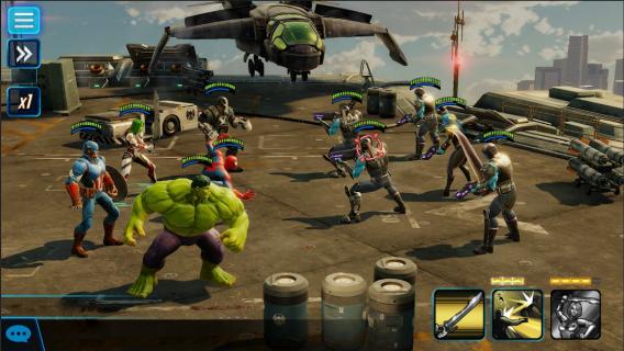 MARVEL Strike Force Resimleri
