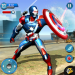 Flying Robot Captain Hero City Survival Mission Android