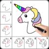 Android Kawaii Kolay Çizim: Adım Adım nasıl çizilir. Resim