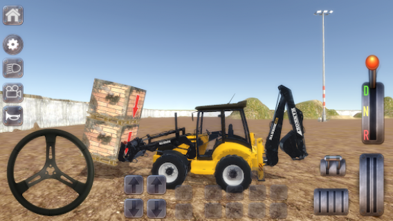Excavator Simulator Backhoe Loader - Dozer Oyunu Resimleri
