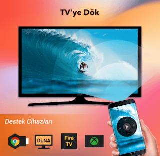 Cast to TV - TV Video Aktarma Resimleri