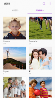 Samsung Video Library Resimleri